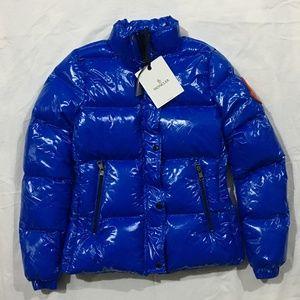 Women's Moncler Blue Coat Jacket